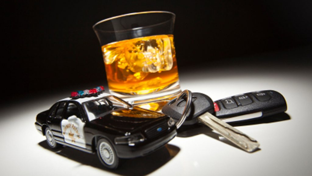 St Louis Traffic Ticket Fix Lawyer Drink Keys and Police Car